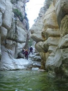 barranco del infierno en la Vall de Ebo  (Alicante)